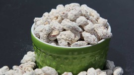 Raspberry Honey Almonds